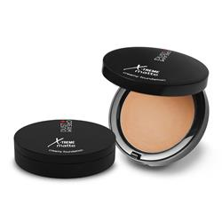 MAKE UP MATTE ΚΡΕΜΩΔΕΣ COMPACT DUST+CREAM No3 HONEY