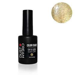 ΒΕΡΝΙΚΙ DUST+CREAM ΗΜΙΜΟΝΙΜΟ UV & LED SOAK OFF No 420 GOLD GLITTER