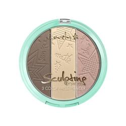 ΠΟΥΔΡΑ 3 ΑΠΟΧΡΩΣΕΩΝ LOVELY (SUN-MATTE-SHINE) SCULPTING POWDER