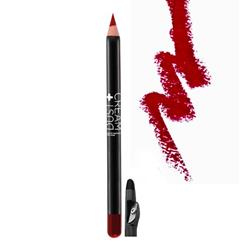 LIP PENCIL DUST+CREAM No 013 DEEP RED WITH SHARPENER
