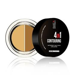 MAKE UP ΣΕ ΚΡΕΜΩΔΗ ΥΦΗ ΣΕ 2 ΑΠΟΧΡΩΣΕΙΣ ΓΙΑ CONTOURING 4 IN 1 DUST+CREAM No 01 GUILTY VS INNOCENT