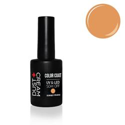 ΒΕΡΝΙΚΙ DUST+CREAM ΗΜΙΜΟΝΙΜΟ UV & LED SOAK OFF No 407 SUNSET ORANGE