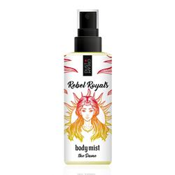 "BODY MIST ""THE DAME"" REBEL ROYALS DUST+CREAM ΜΕ ΑΡΩΜΑ ΛΕΜΟΝΙ, ΜΑΝΤΑΡΙΝΙ ΚΑΙ RASPBERRY"