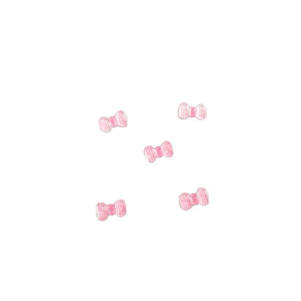 ΔΙΑΚΟΣΜΗΤΙΚΑ ΝΥΧΙΩΝ ΦΙΟΓΚΑΚΙΑ ΡΙΓΕ ΛΕΥΚΟ-ΡΟΖ 3D SET 5 ΤΜΧ, ΣΧΕΔΙΟ 11