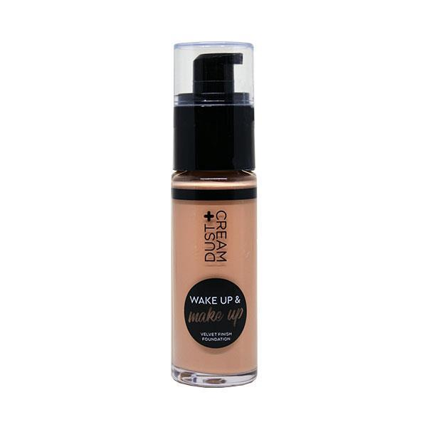 MAKE UP ΥΓΡΟ ΣΕ DISPENSER DUST+CREAM WAKE & MAKE UP Νο 04 WARM BEIGE