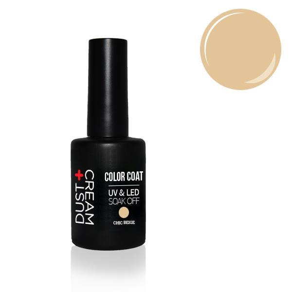 ΒΕΡΝΙΚΙ DUST+CREAM ΗΜΙΜΟΝΙΜΟ UV & LED SOAK OFF No 405 CHIC BEIGE