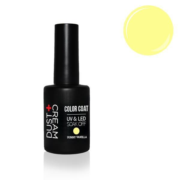 ΒΕΡΝΙΚΙ DUST+CREAM ΗΜΙΜΟΝΙΜΟ UV & LED SOAK OFF No 404 SUNNY VANILLA