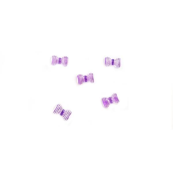 ΔΙΑΚΟΣΜΗΤΙΚΑ ΝΥΧΙΩΝ ΦΙΟΓΚΑΚΙΑ ΡΙΓΕ ΛΕΥΚΟ-ΜΩΒ 3D SET 5 ΤΜΧ, ΣΧΕΔΙΟ 4