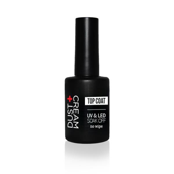ΒΕΡΝΙΚΙ DUST+CREAM ΗΜΙΜΟΝΙΜΟ UV & LED SOAK OFF No 402 TOP COAT