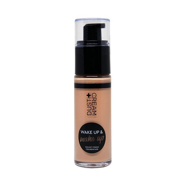 MAKE UP ΥΓΡΟ ΣΕ DISPENSER DUST+CREAM WAKE & MAKE UP Νο 02 SAND