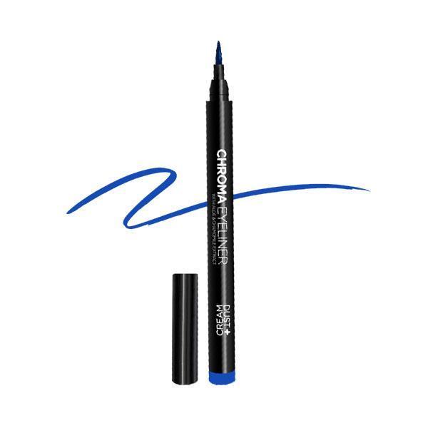 EYELINER CHROMA DUST+CREAM ΜΠΛΕ Νο 02 ROYAL BLUE