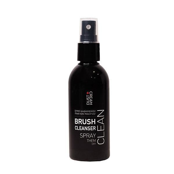 BRUSH CLEANSING SPRAY DUST+CREAM