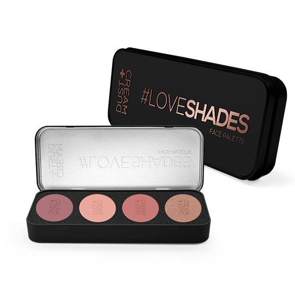 ΠΑΛΕΤΑ DUST+CREAM LOVESHADES No 01 SOULMATE
